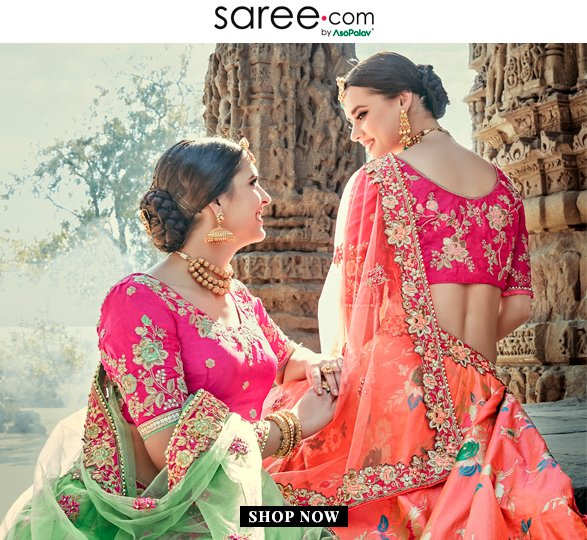 Bridesmaids in Vibrant Color Lehenga Choli