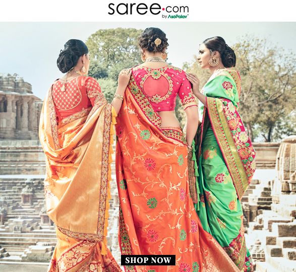 Bridesmaids in Vibrant Color Saree