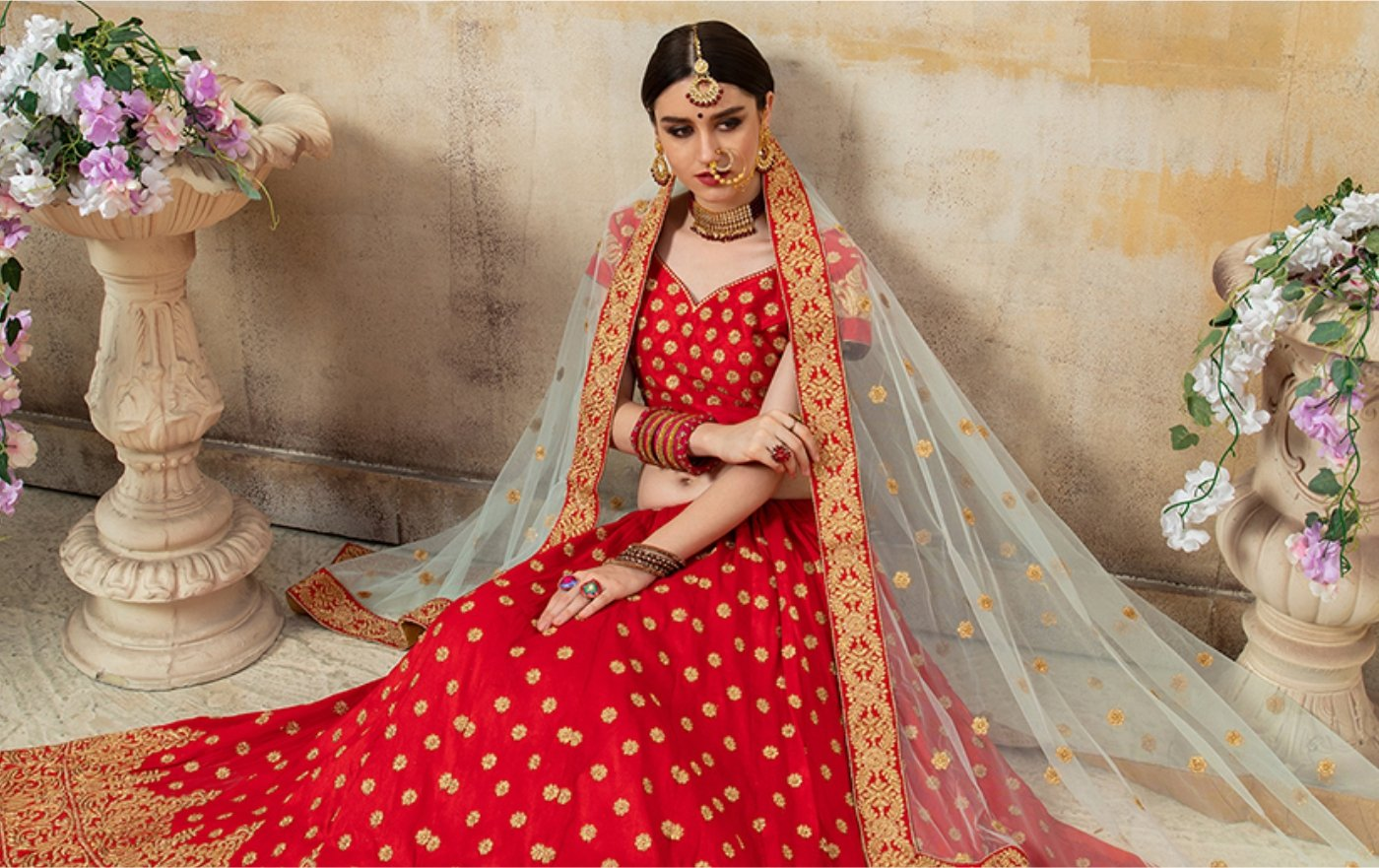 Best Red Bridal Lehengas for Weddings – you can't miss!