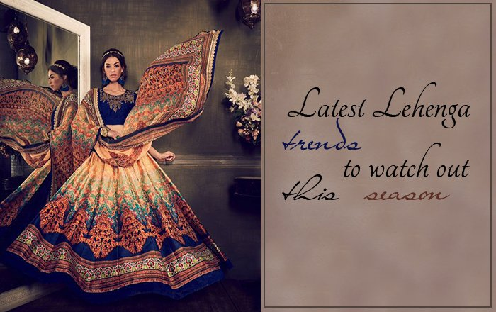 Latest Lehenga choli Banner - saree.com