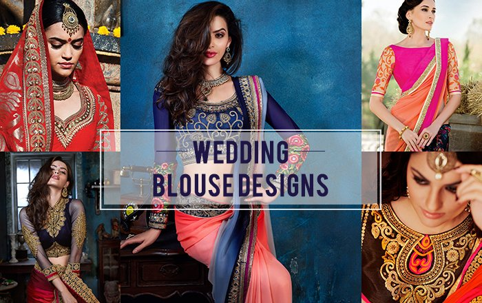 e16837f3c61064 16 Awesome Saree Blouse Designs for Weddings