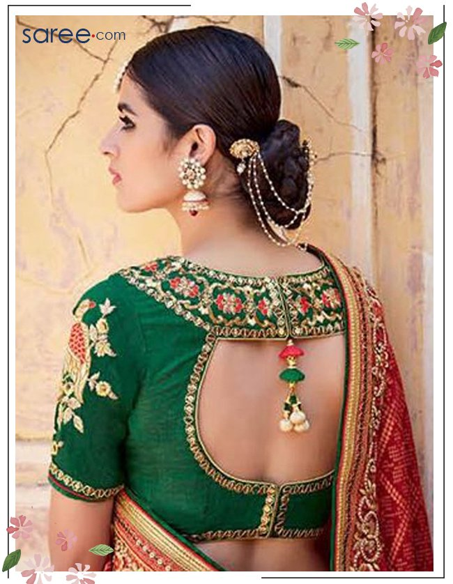 16 Awesome Saree Blouse Designs For Weddings