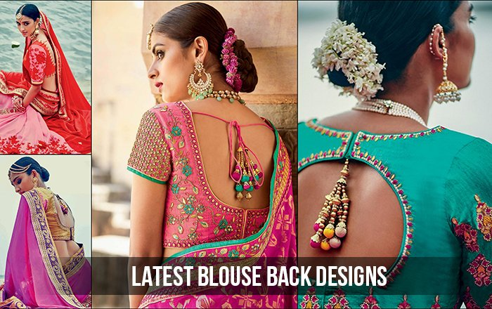 15 Evergreen and Trendy Saree Blouse Back Designs [Infographic]