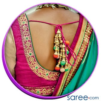 15 Evergreen And Trendy Saree Blouse Back Designs Sareecom By