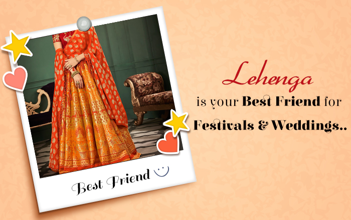 10 Reasons a Lehenga is your best friend - for Festivals and Weddings