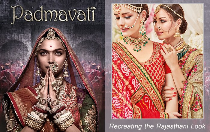 Deepika Padukone as Rani Padmavati recreates the iconic Rajasthani Royal Look