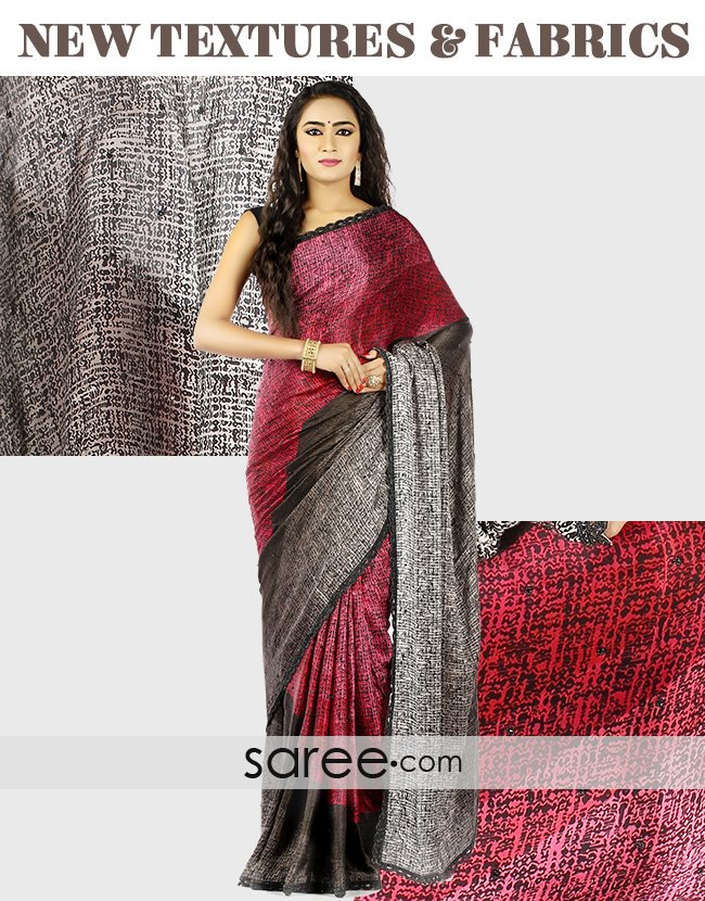 53a2aa8e6c Trending Saree Trends for 2018 | saree.com by Asopalav