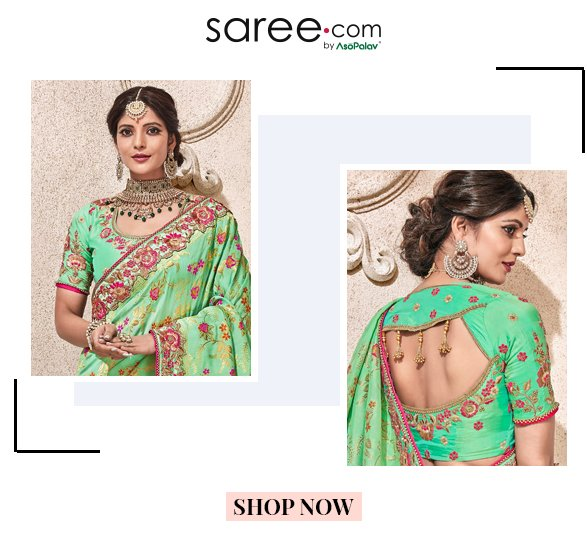 bf6d9665064c4a 10 Stylish Saree Blouse and Lehenga Blouse Designs 2019  Infographic