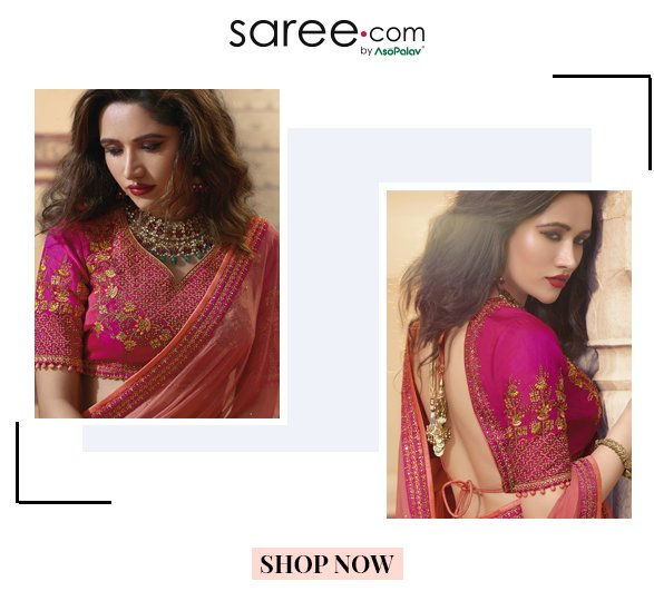 10 Stylish Saree Blouse And Lehenga Blouse Designs 2019 Infographic