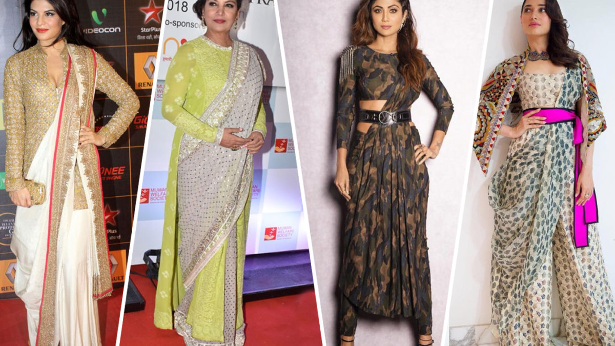 Sari Draping And Styling Lessons From Bollywood Celebrities