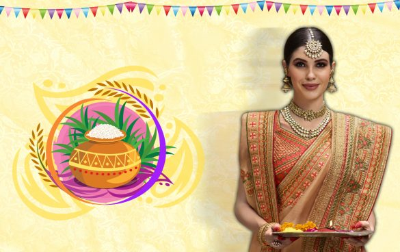 Traditional Sarees for the Pongal, Sankranti, Lohri & Bihu