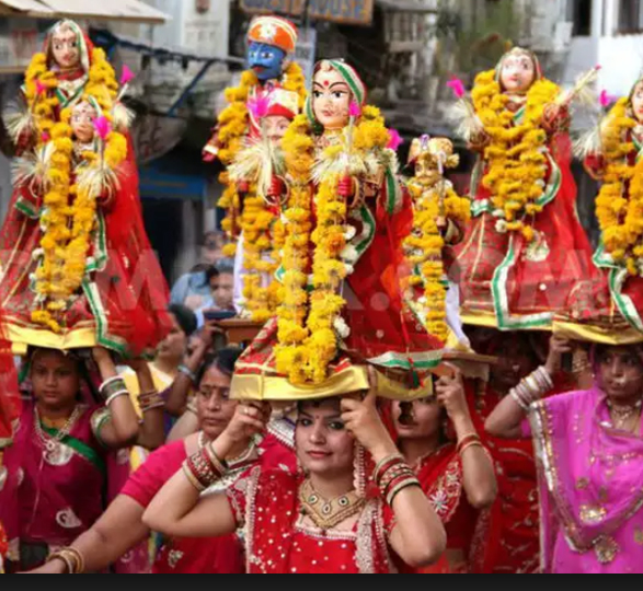 Gangaur Celebration