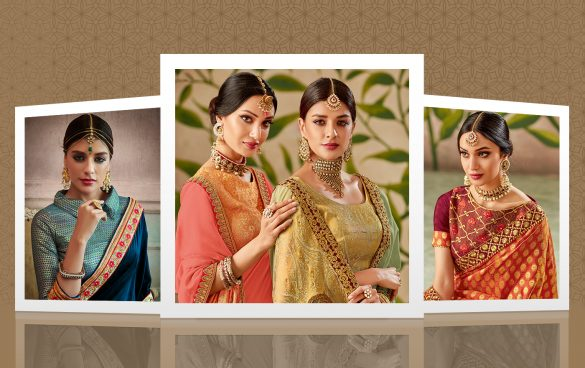 6 Half-And-Half Sarees That You Must Get For This Season