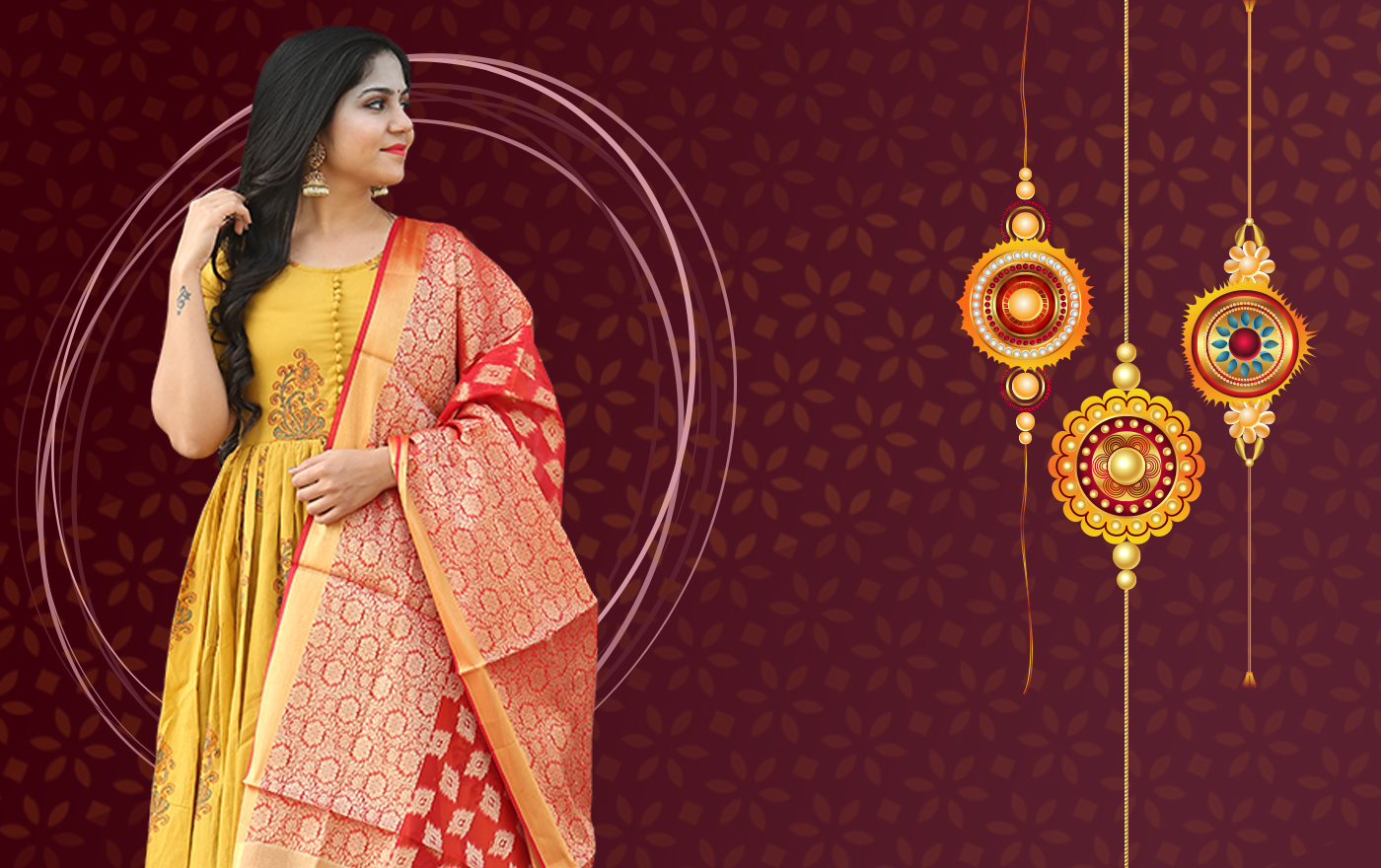 Lehenga Look-Book For Raksha Bandhan
