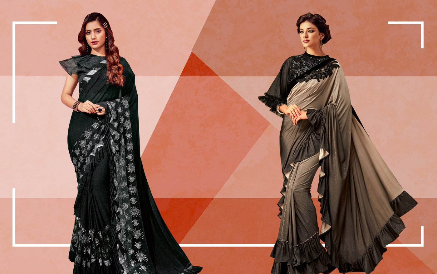 Ruffle Sarees Reign All Over Bollywood