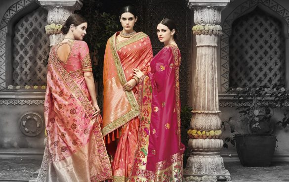 Wedding Silk Sarees Majestic Maharani Collection