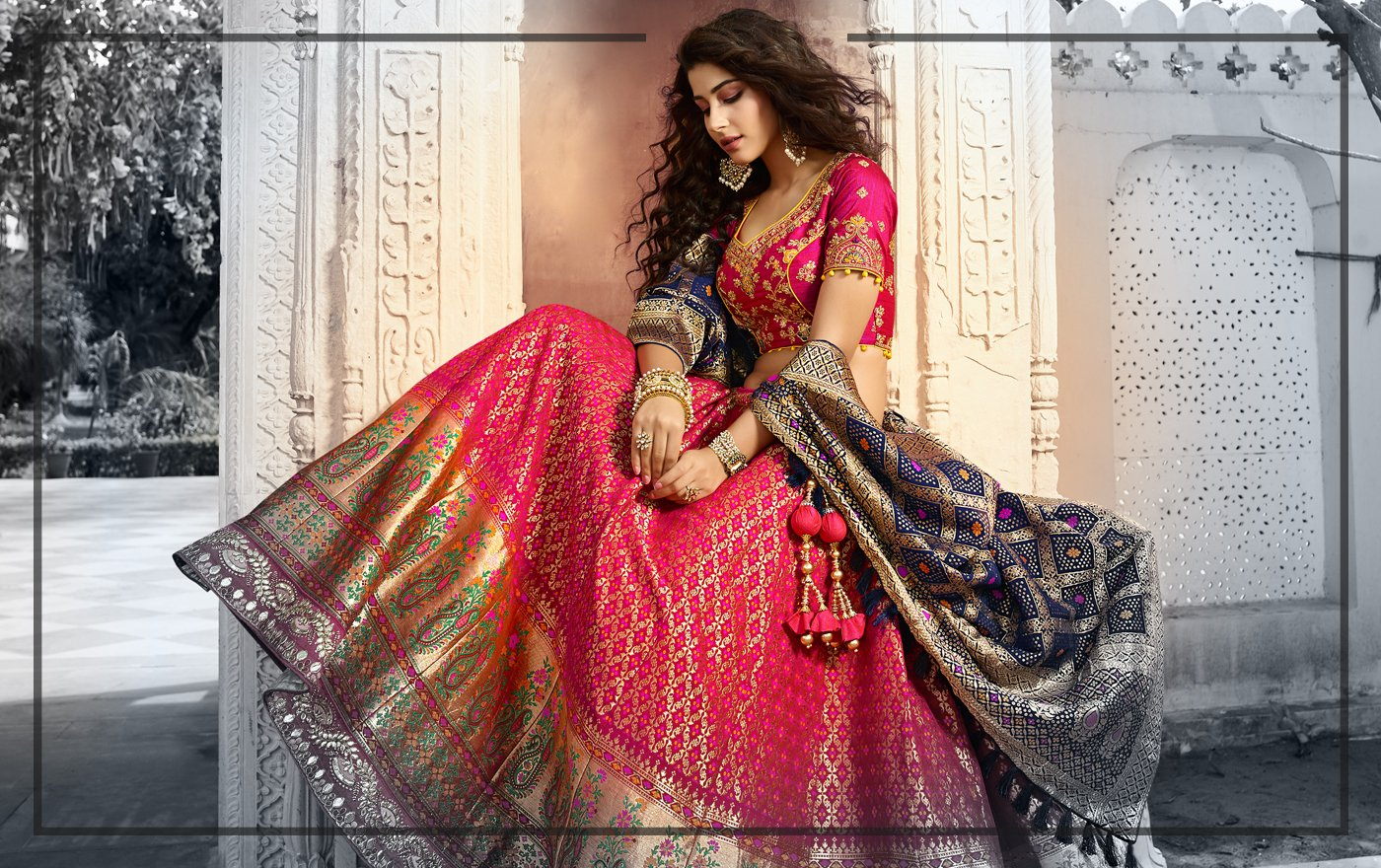 Trending Lehenga Colors For The Festive Season
